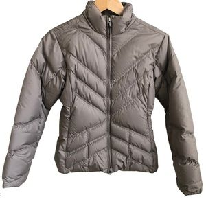 PATAGONIA Puffer Jacket Taupe - Size Small